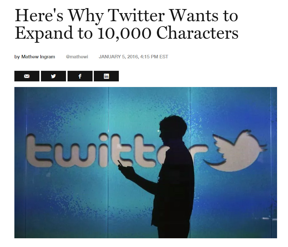 twitter expands to 10,000 words